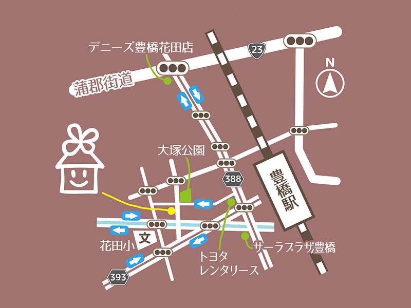 地図_住ミテルの地図