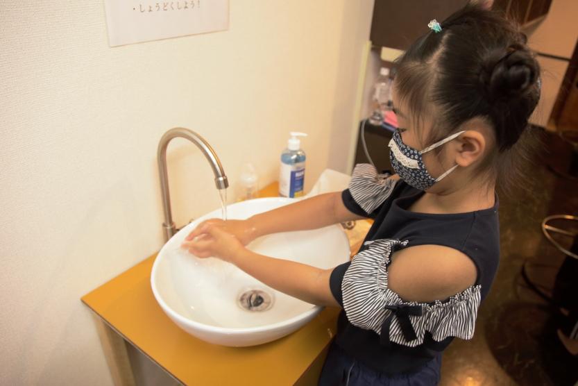子ども食堂7_手洗い